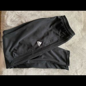 all black adidas pants